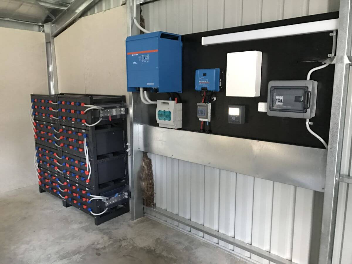Commercial Solar battery System