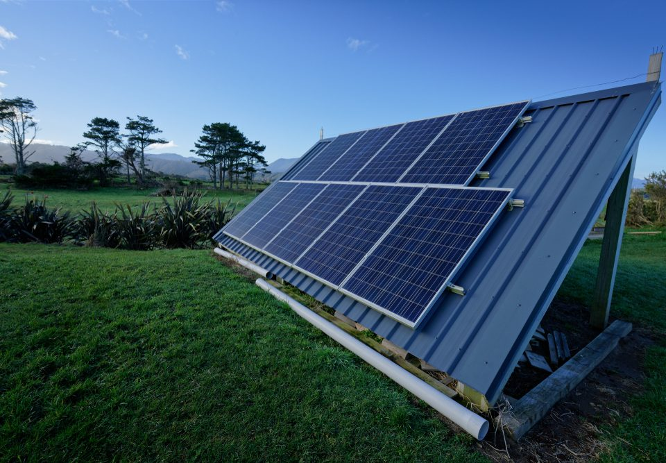 Off-Grid Solar Systems Farms Need Batteries